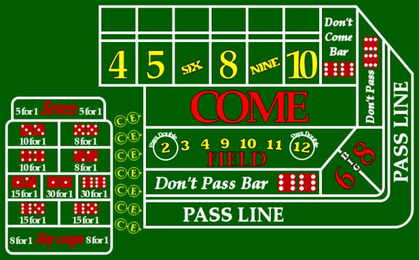 Green poker chips value